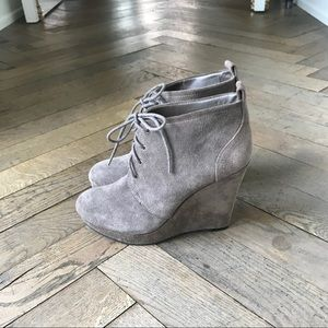 Jessica Simpson 'Catcher' Bootie size 7 Taupe